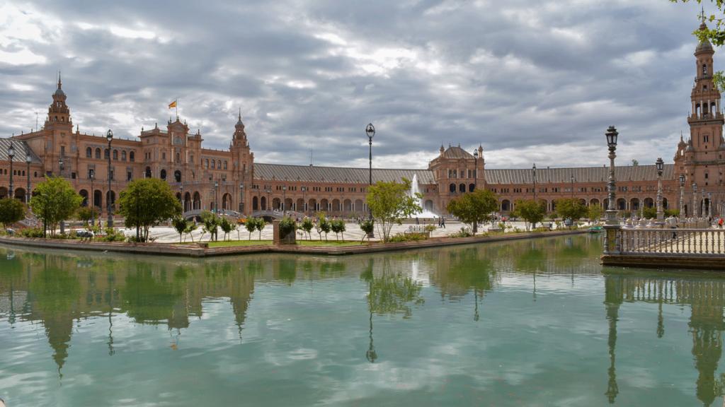 sewilla plac hiszpański, zwiedzanie sewilli