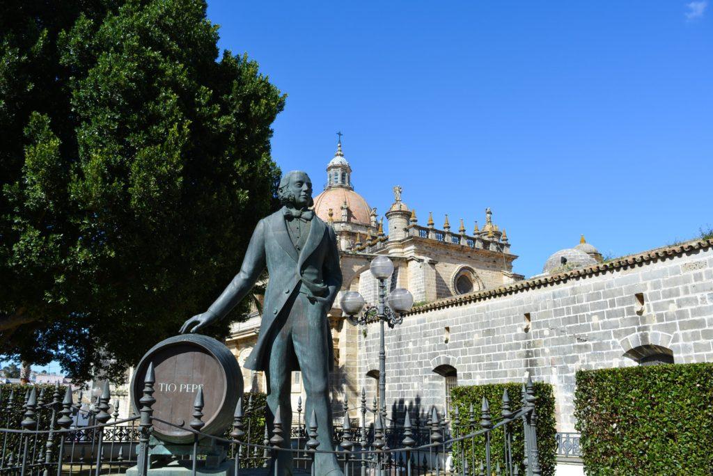 katedra w jerez de la frontera wino tio pepe