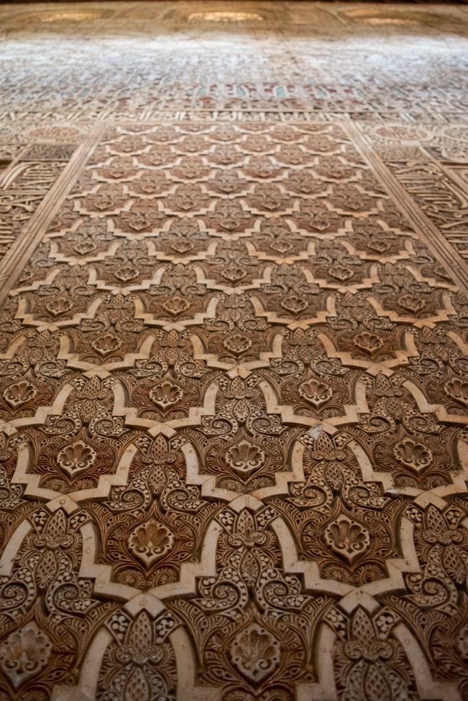 zdobienia w Alhambrze