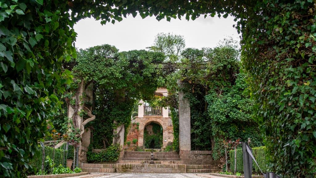 ogrody w Alcazabie