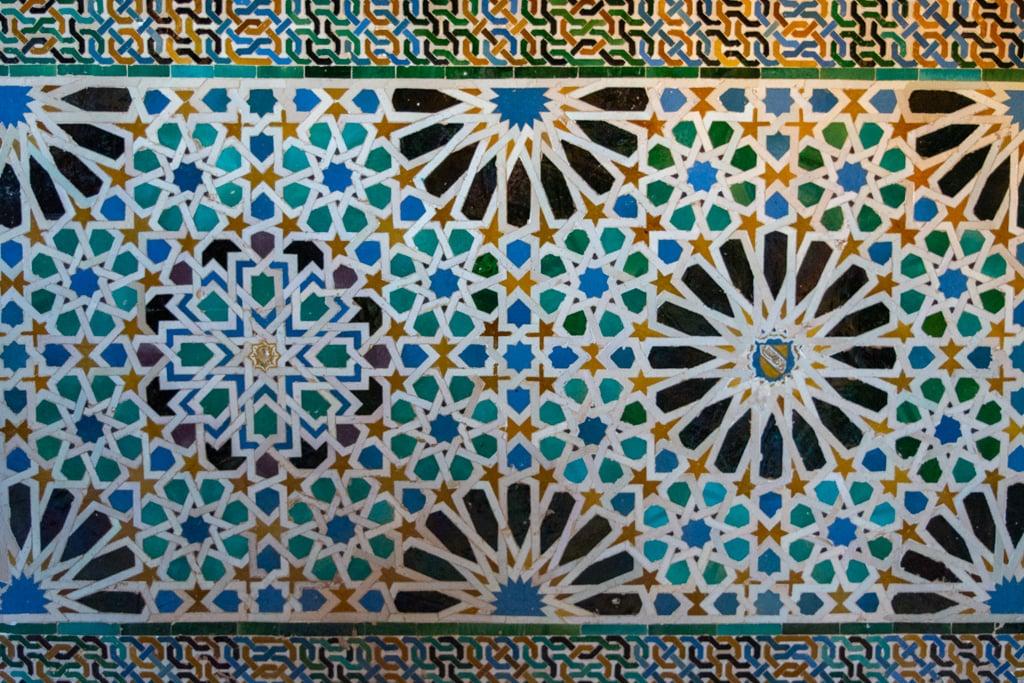 azulejos palacio de los leones