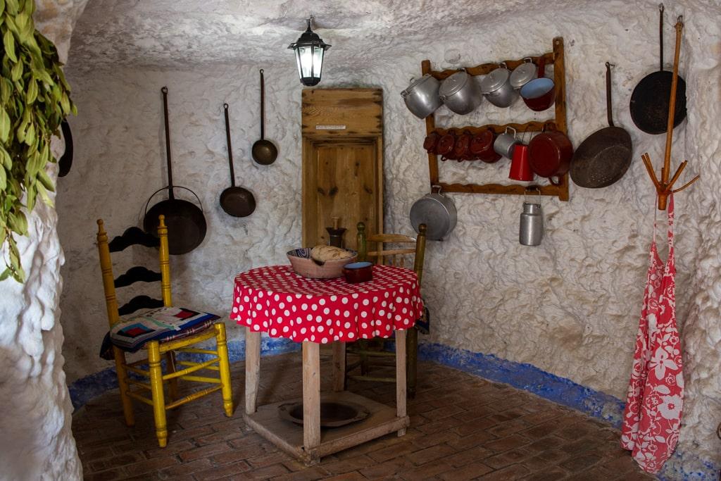Muzeum jaskiń w Sacromonte