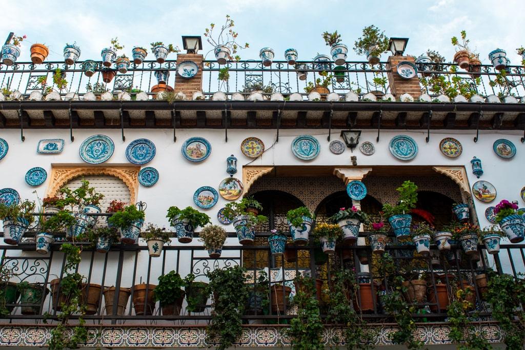 Balkony w dzielnicy Albaicin