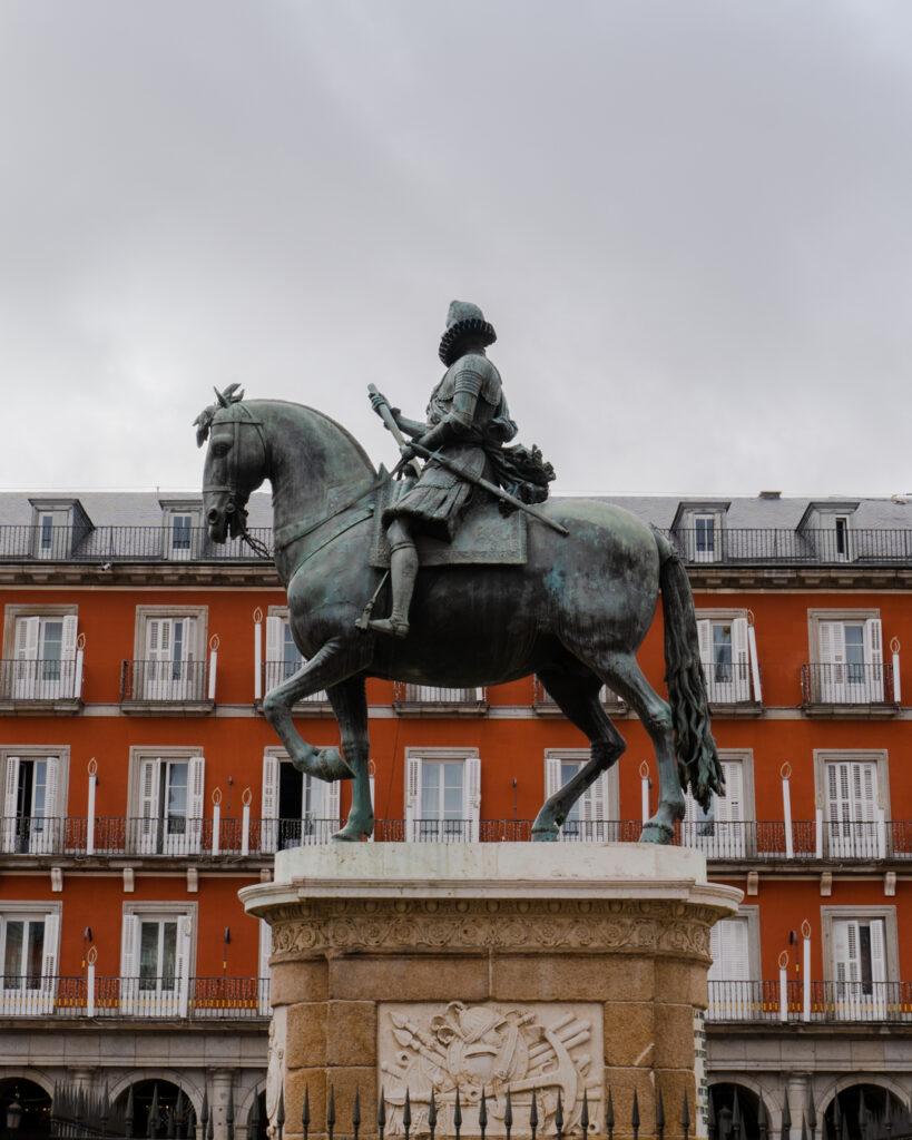 Plaza Mayor w Madrycie