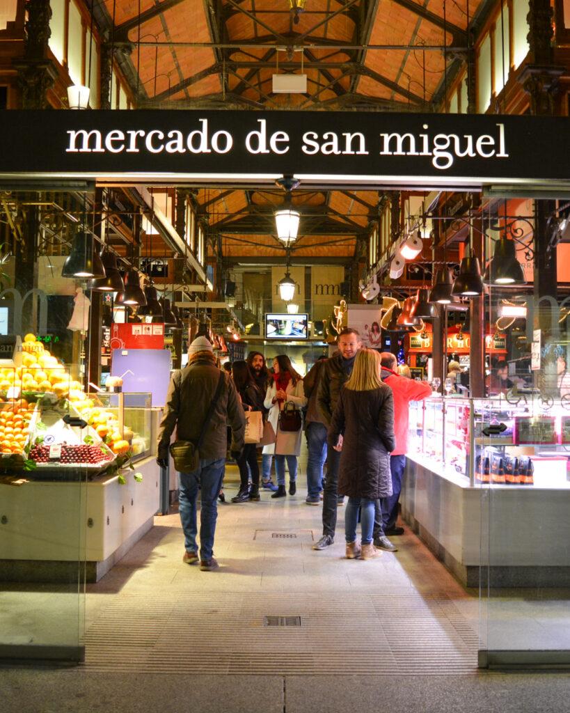 Mercado de San Miguel w Madrycie