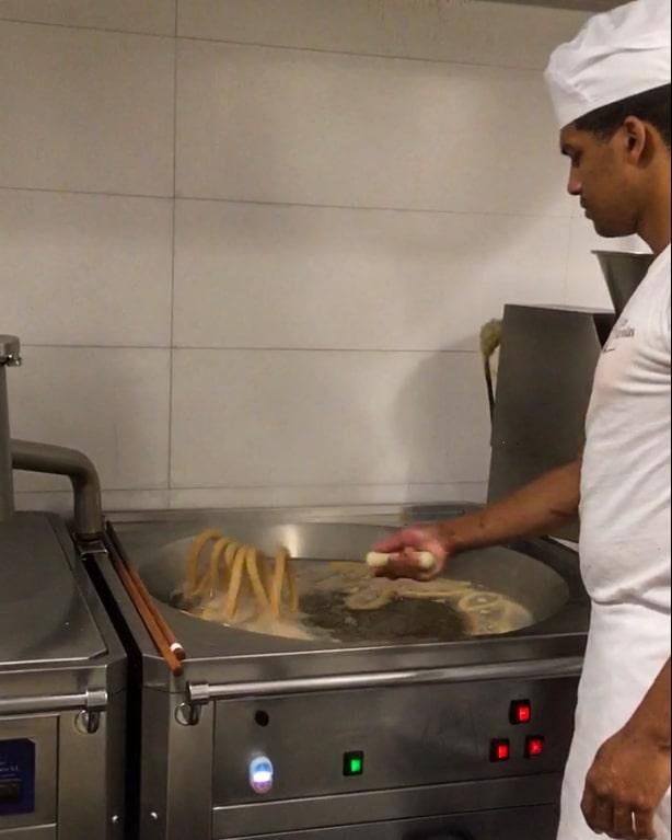 Jak robione są churros